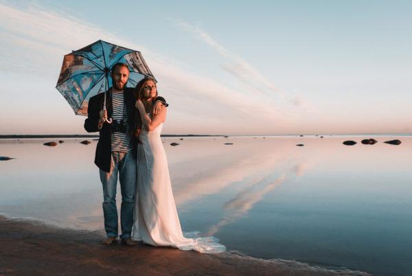 свадебный зонт
