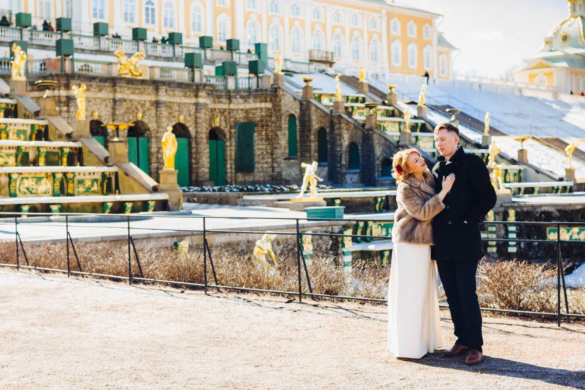 фото в Петергофе