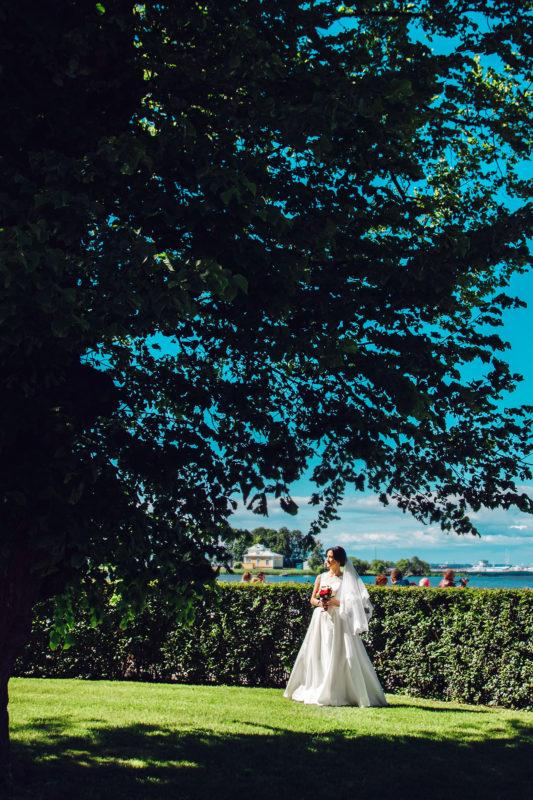 красивая невеста