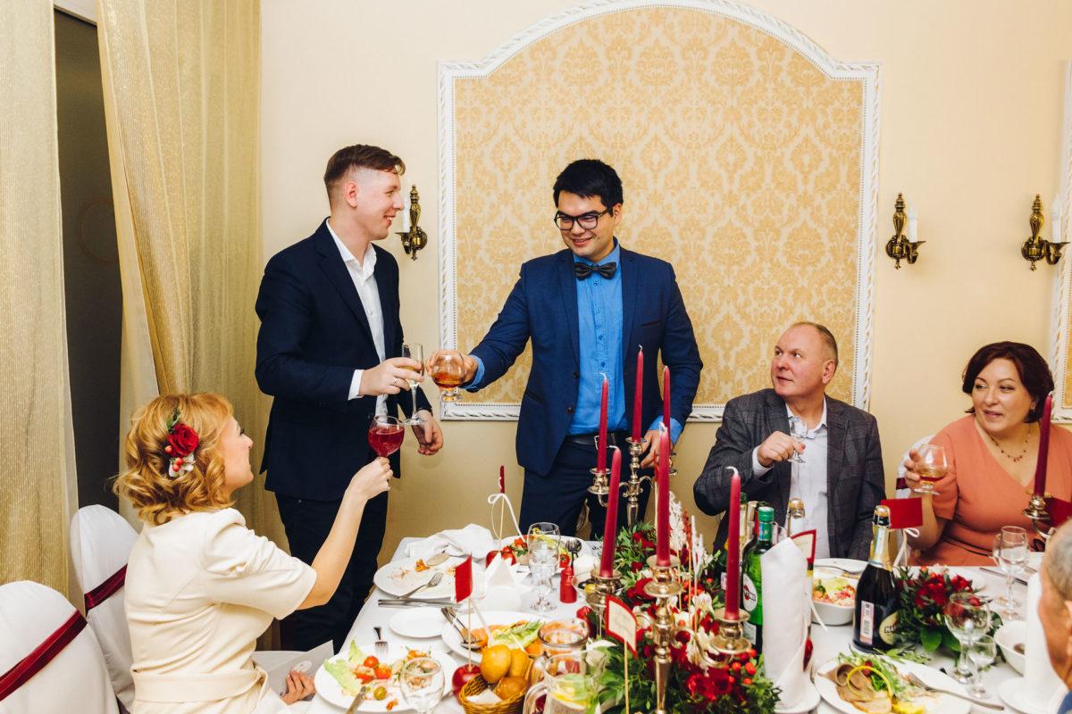 свадебный банкет фотограф