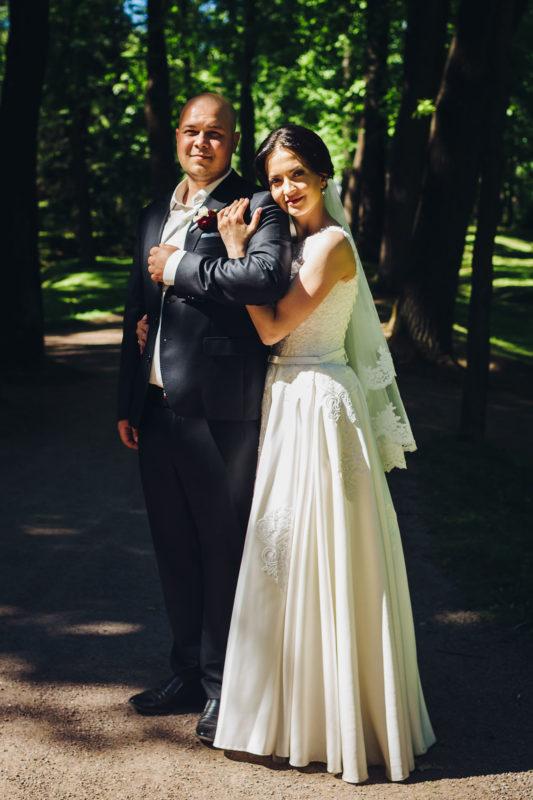 свадебный портрет в полный рост
