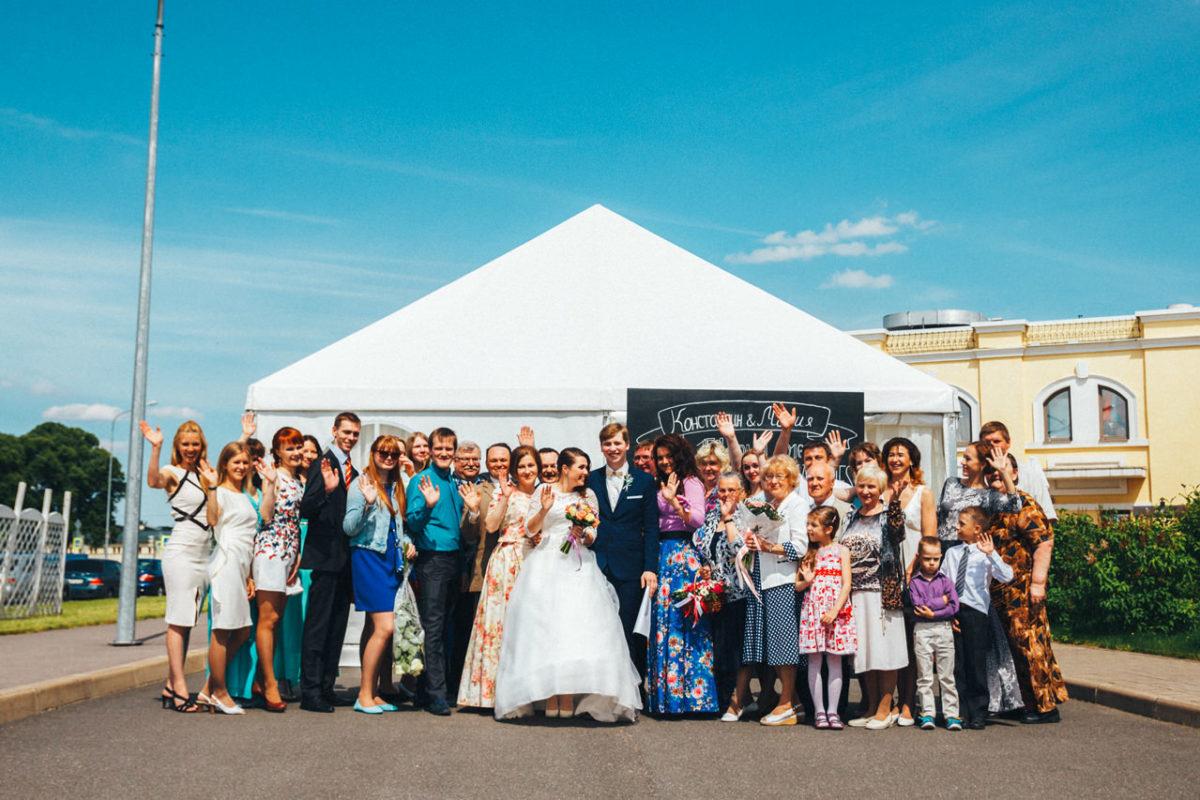 свадьба в гранд спа отель Петергоф