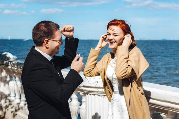 свадьба у залива