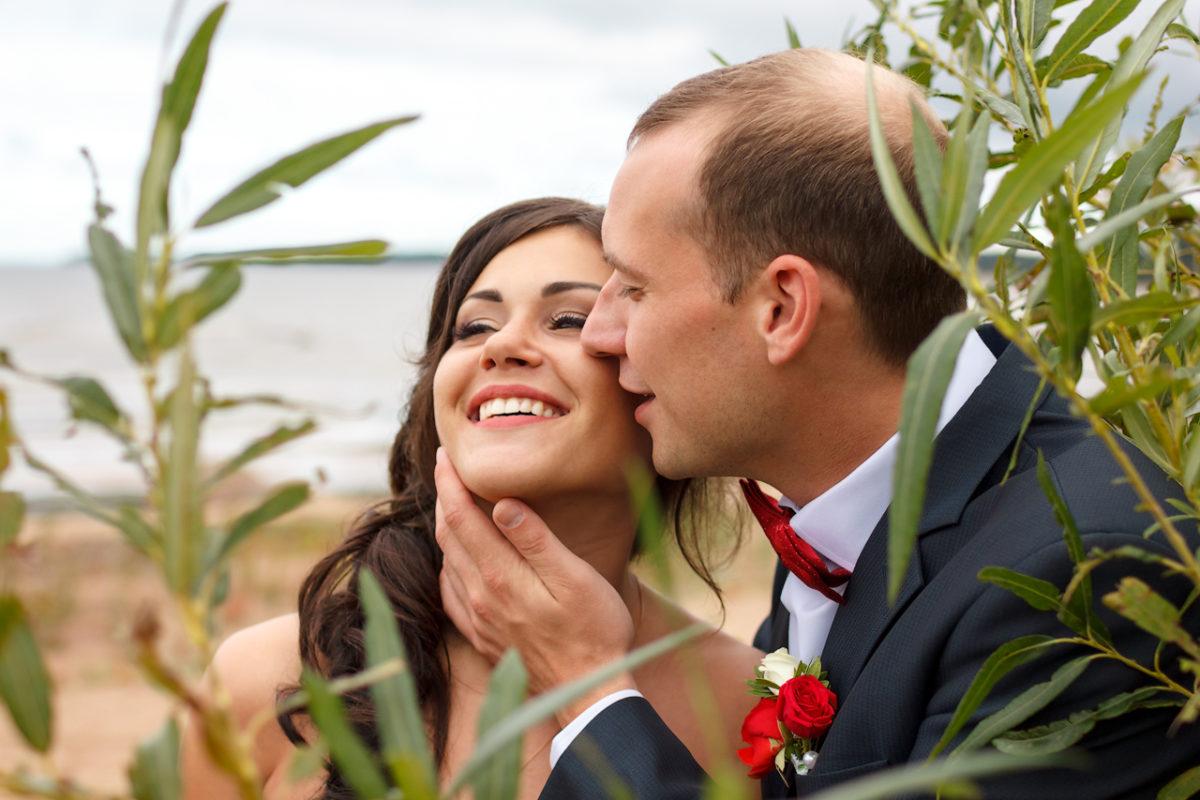 Отличная свадебная фотография