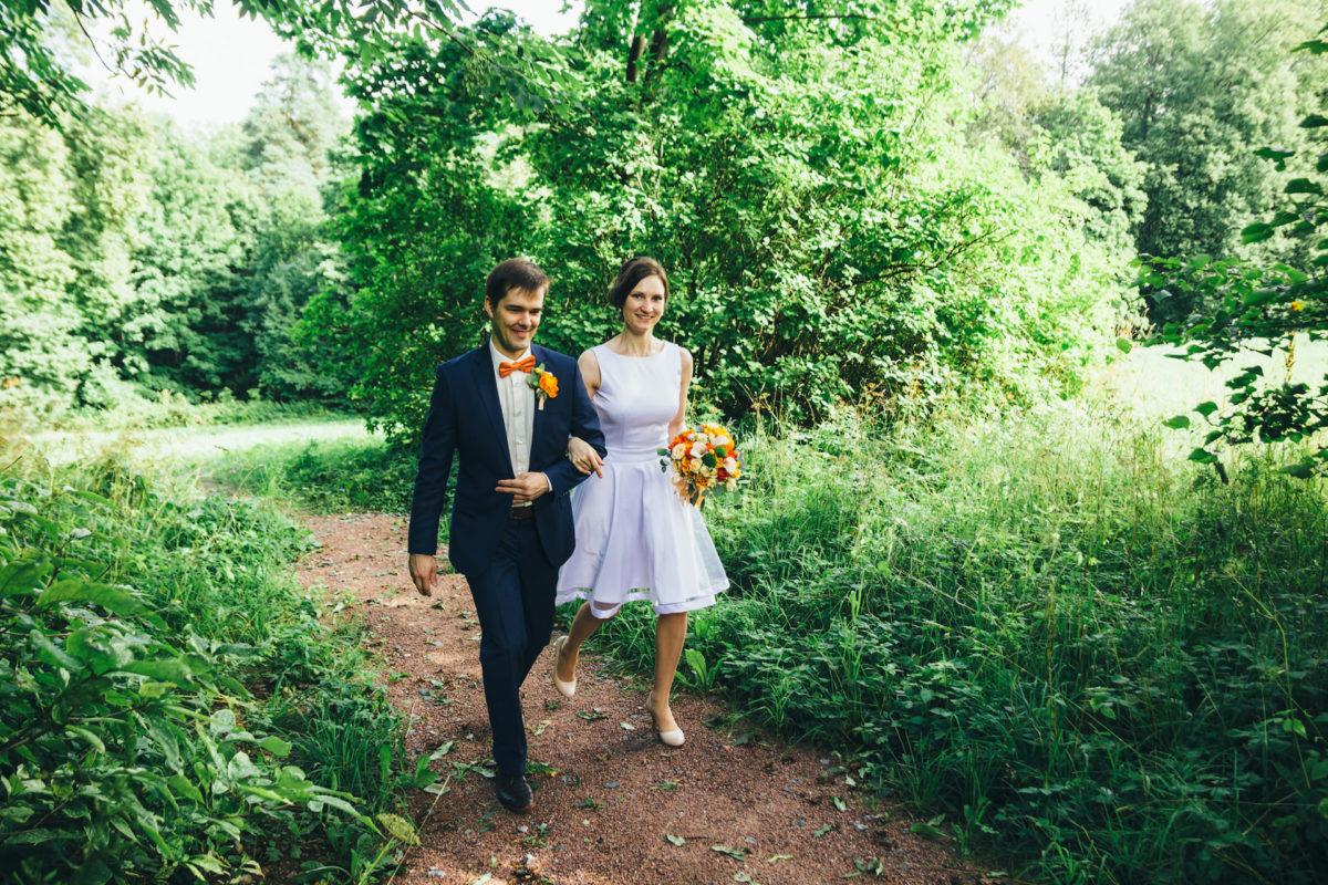 Свадебная прогулка в Ломоносове