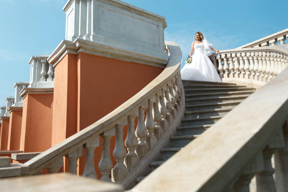Невеста в Петергофе