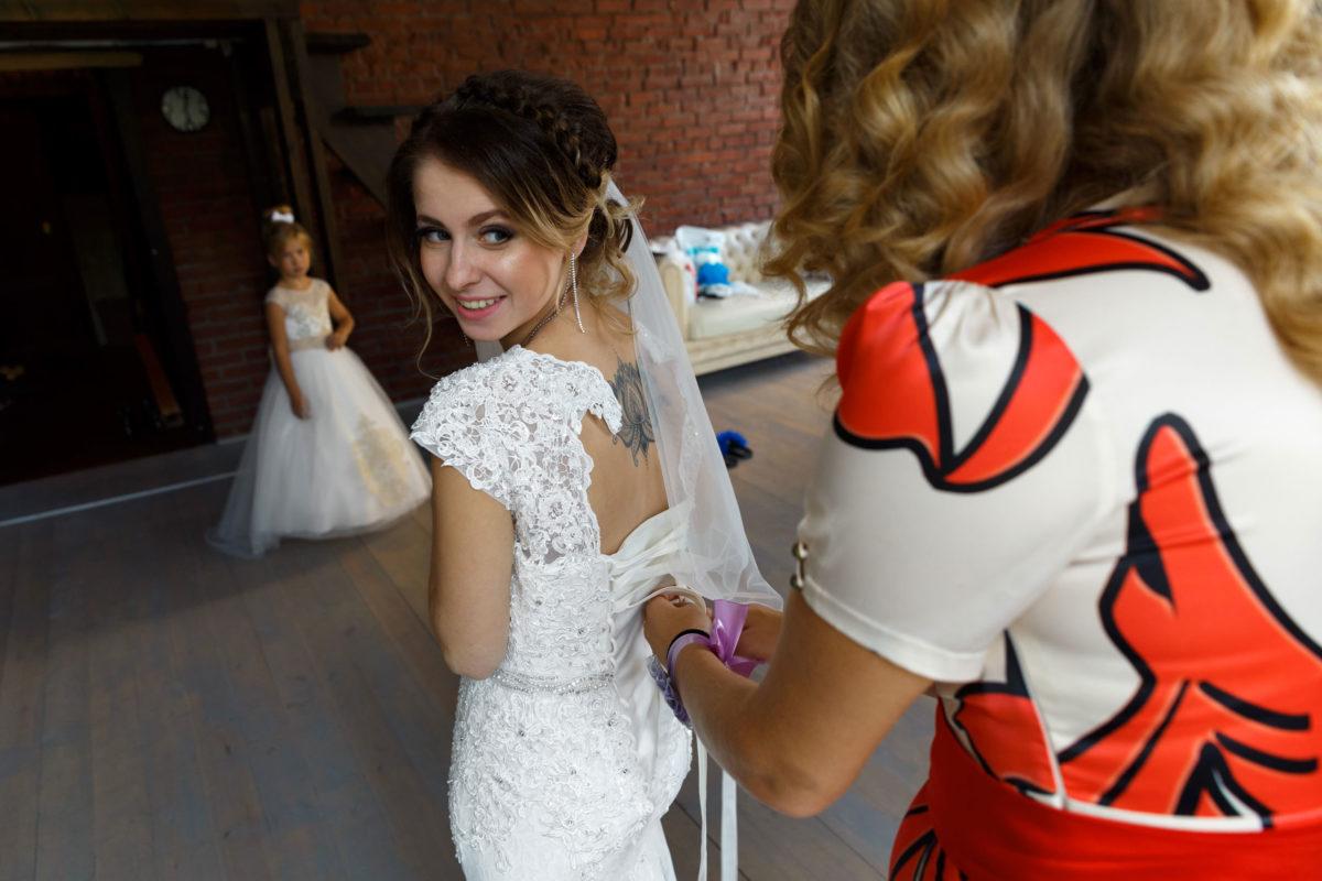 сборы невесты в Сосновом Бору