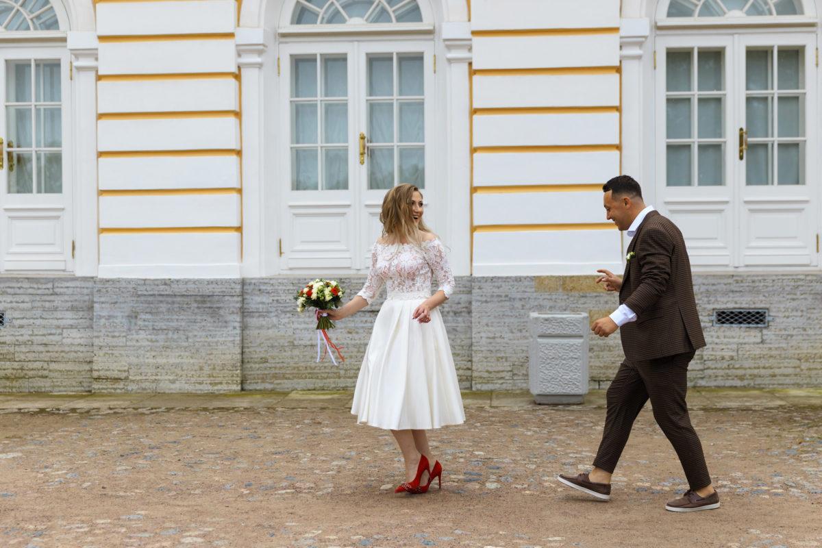 Смешная свадебная фото