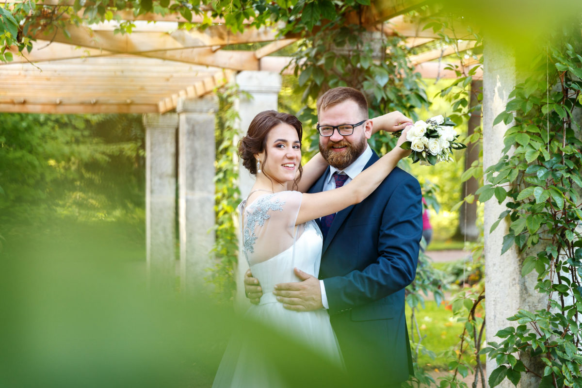 парк Ломоносова свадьба