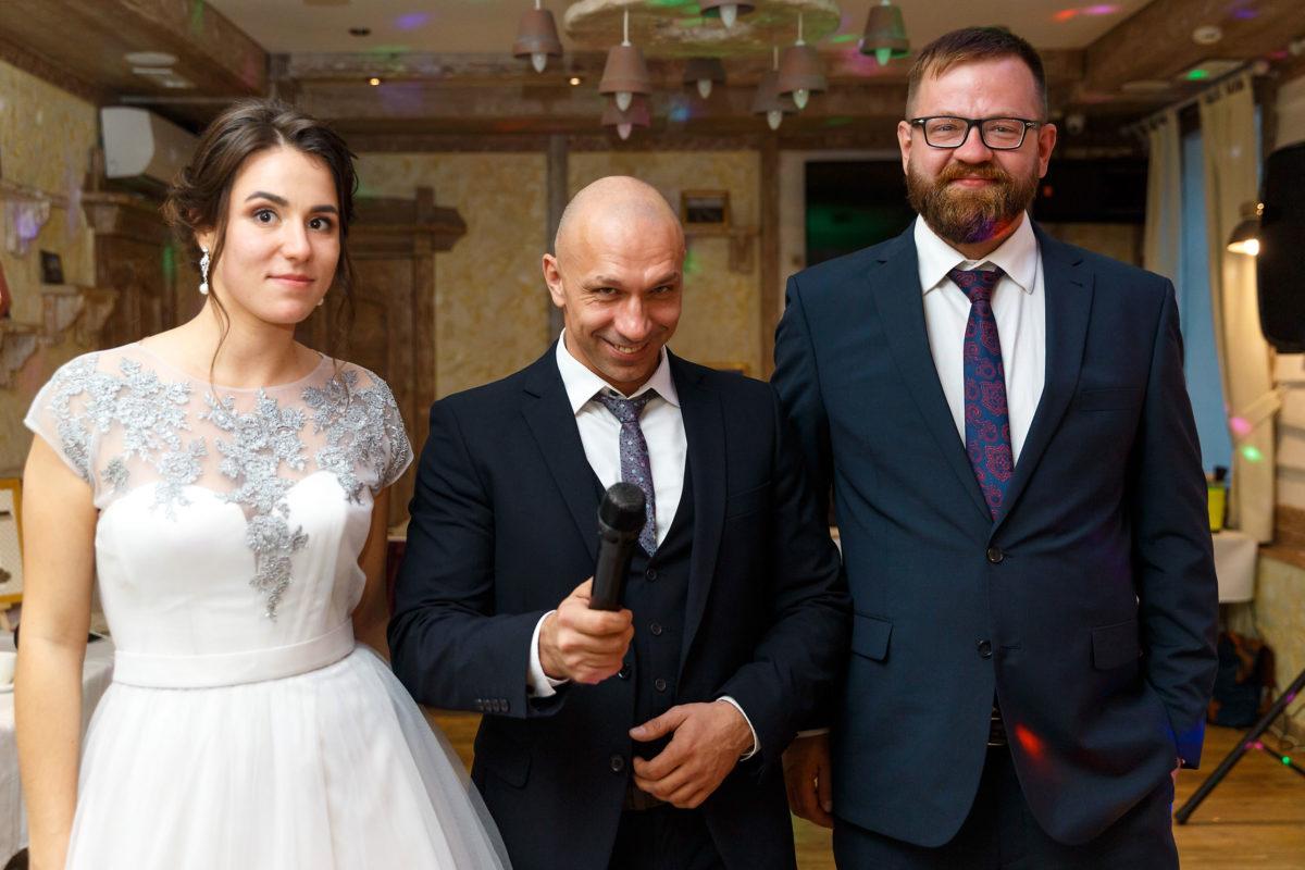 ведущий свадьба Петергоф