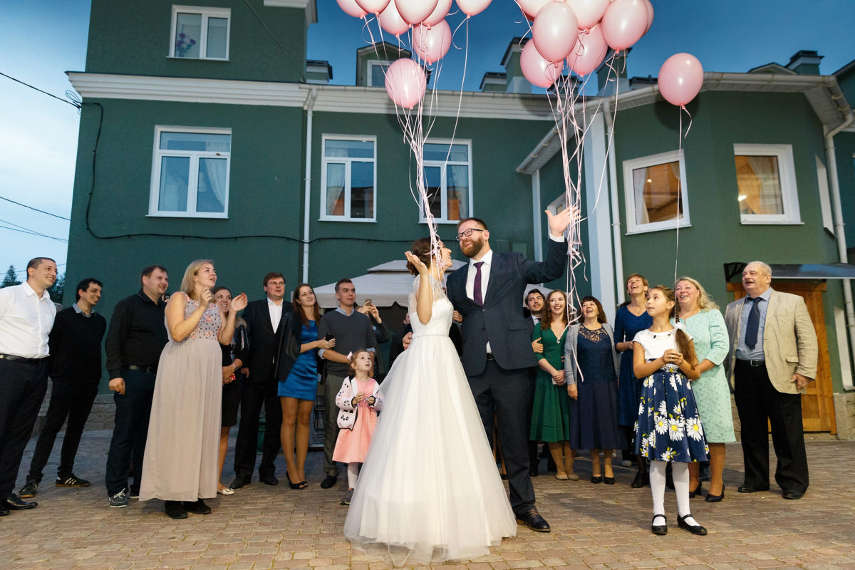 свадьба стрельна