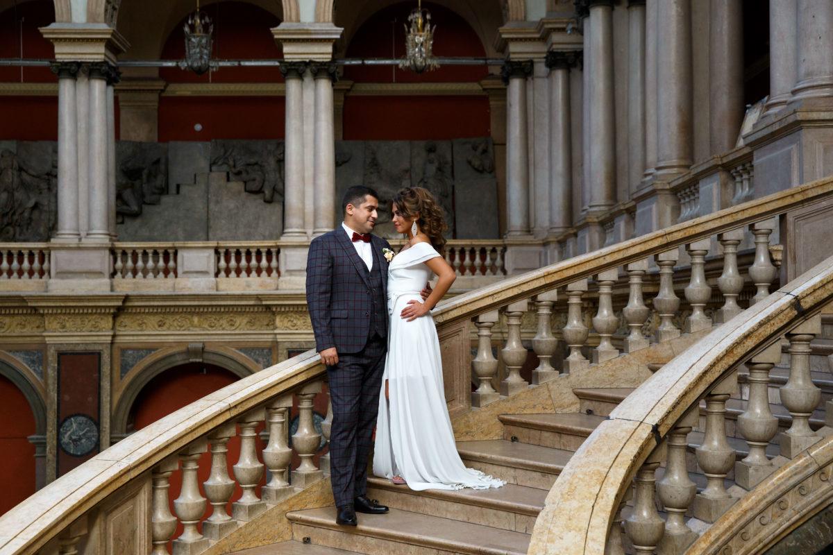 свадебная фотосессия академия Штиглица